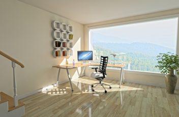 biuro z widokiem